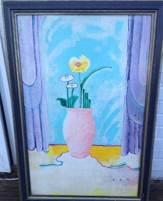 Nell Blaine American Artist Oil Painting,American Abstract Artist Group ,
