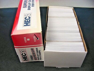 BRITISH COLONIES, 100's of Mint NH Stamps in 300+ HECO cards, duplication