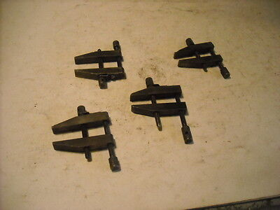 "4 Parallel Clamps Max Jaw Opening (1)7/8"", (2)1"", (1)1.1/8  Exc Cond"