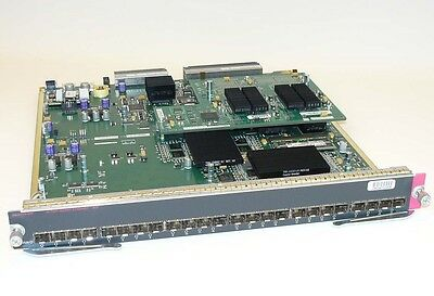 WS-X6724-SFP CISCO 24-Port SFP-Based Gigabit Ethernet Module + CFC Tested Good