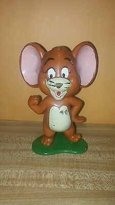 Tom And Jerry Rare Vintage 1973 Plastic 4 1/2 Inch Jerry Figurine