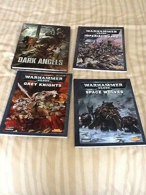 WARHAMMER 40k Out Of Print Codex Books
