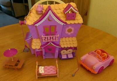 Lalaloopsy Sew Sweet House Playset Plus Accessories (VGC)
