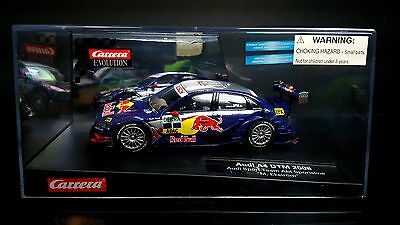1/32 Carrera Evolution Slot Car Audi A4 Red Bull Lighted DigitalUpgradable 27237