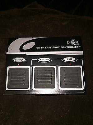 Chauvet CA-8F Easy Foot Controller Works Great No Cables