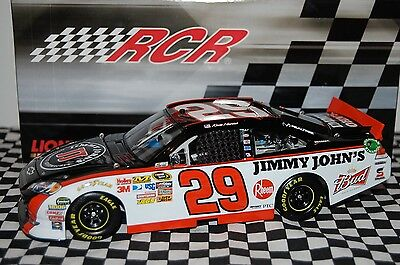 Kevin Harvick #29 Jimmy Johns 1:24 scale NASCAR Die-Cast (Blemish on Decal)