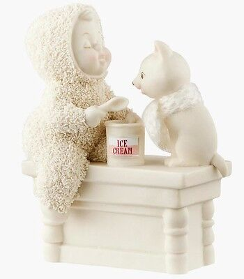 Snowbabies A Scoop to Soothe the Soul Figurine Ornament (4051915) Department 56