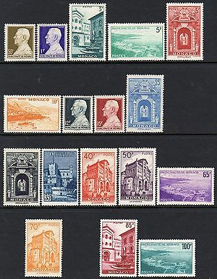 (320)     Monaco 1949-59 Set SG389-59  LM/Mint Cat £197 (See Description)