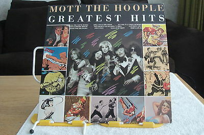 MOTT The HOOPLE-Greatest Hits-UK LP-NM-UNPLAYED-1976-DAVID BOWIE-