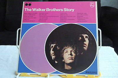 NORTHERN-THE WALKER BROTHERS - THE WALKER BROTHERS STORY -2xLP-NM-MOD SOUL