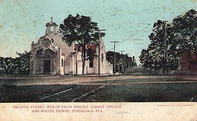 159 Palafox St, North from Wright, Christ Church  Pensacola, Fla 1905 FL