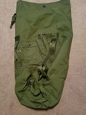 Duffle Bag US Military Issue Back Pack 2 Shoulder Strap Issued Ruck Sack