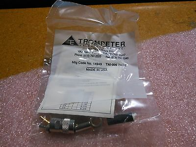 Trompeter Coaxial Rf Connector # Pl155C-201  Nsn: 5935-01-175-8239