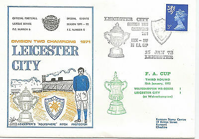 FOOTBALL SERIES No. 5 1971-72 LEICESTER CITY  DIVISION TWO CHAMPS 1971  433