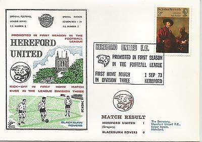 1973 Hereford United Promoted In First Season In Football League 460
