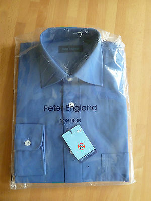 BN Peter England Blue Shirt  14.5""
