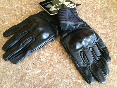 Under Armour Hard Knuckle Tactical Gloves Black Size MEDIUM new wot  MSRP $89.99