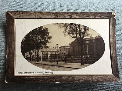 5x Reading Royal Berks Hospital Town Hall Foxhill House New Free Library