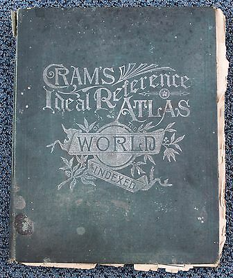 1905 Cram's Ideal Indexed Reference Atlas Of The World