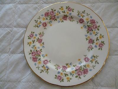 Queen Anne Fine Bone China Country Bouquet Side Plate