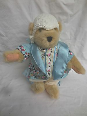 """One Minuet More Muffy VanderBear The Mozart Collection Costume Teddy Bear 8"""""""