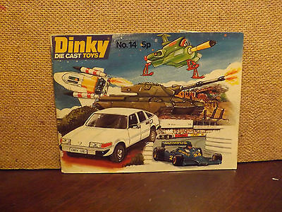 DINKY TOYS CATALOGUE ..No 14..1978...GOOD...