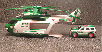 HESS Helicopter And Rescue Diecast