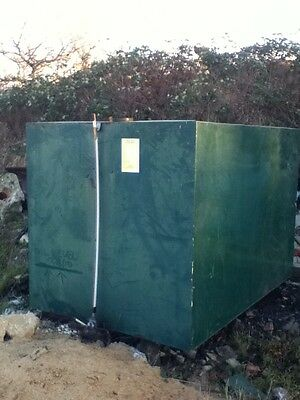 Used Metal Heating Oil /diesel Tank 2500Ltr No Leaks Can Deliver In East Anglia