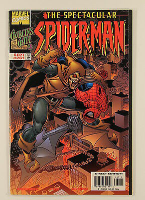 Marvel Comics Peter Parker The Spectacular Spider-Man No 261