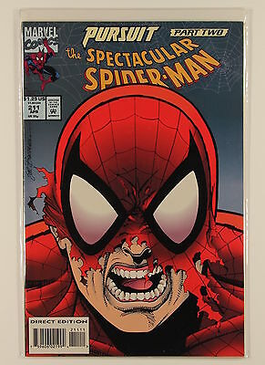 Marvel Comics Peter Parker The Spectacular Spider-Man No 211