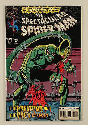 Marvel Comics Peter Parker The Spectacular Spider-Man No 215
