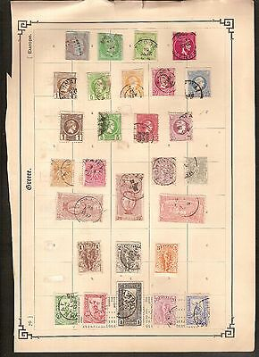 GREECE old classics + not published set of 8 stamps ; condition see 2 scans !