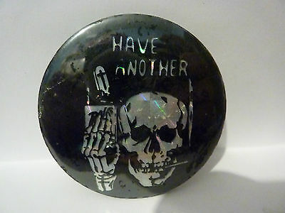 """""""HAVE ANOTHER"""" anti smoking badge Vintage 1970's - 1980'sButton Badge"""