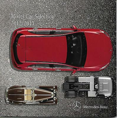 MERCEDES-BENZ (Model Car Selection 2012/3 CATALOGUE) 1:18/43/50/87 Diecast