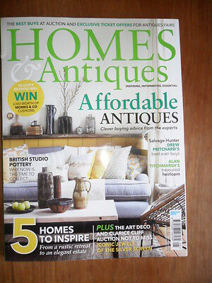 Homes and Antiques Magazine May 2016