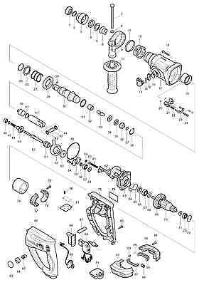 Genuine New Makita Parts for BHR202