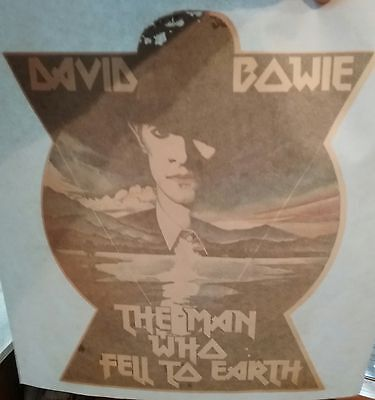 DAVID BOWIE The Man Who Fell To Earth ORIGINAL 1976 Transfer
