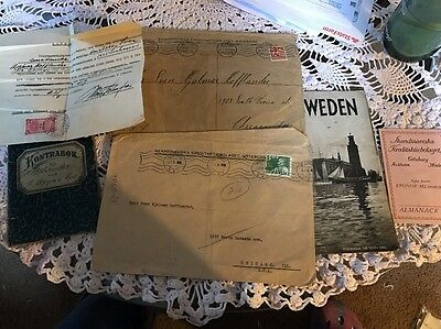 Vintage Foreign Documents
