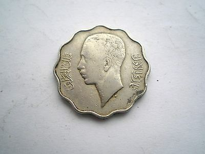 EARLY PRE WW11-4 FILS COIN FROM IRAQ-DATED AH1357=1938-nice