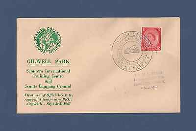 Scout Philatelic Cover - 35th Gilwell Reunion (1961)