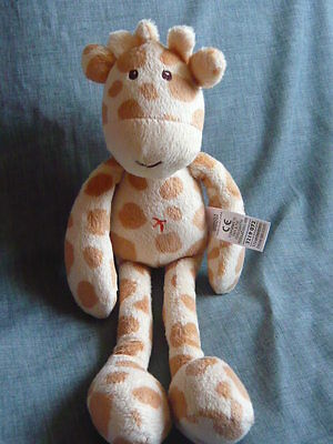 Marks And Spencer My First Jeffrey Giraffe Baby Comforter Hug Buddy Soft Toy (B1