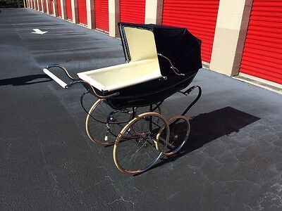 Silver Cross Pram - Stroller, Baby Carriage, Buggie, Antique, English