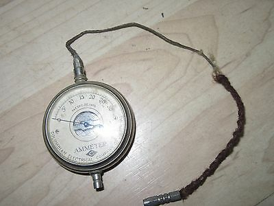 antique small Pocket  Ammeter Patented Dec 22 1903 Columbian Electric Co