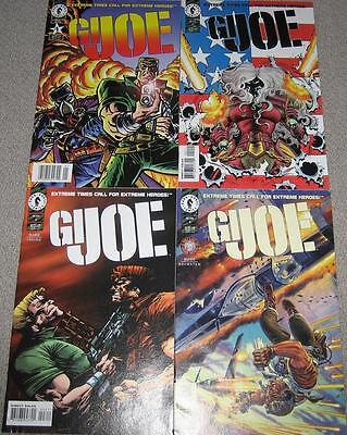 GIJOE Extreme Version #1 Comic set compete Issues 1-4
