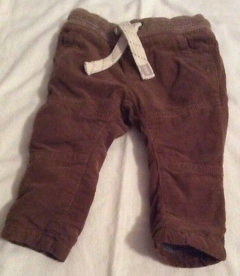 BABY BOYS 'NEXT' TROUSERS 3-6 MONTHS (18lbs)