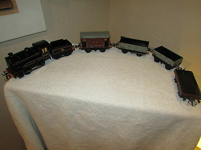 Hornby 60199 Loco & Tender  & Carriages Perfect Working Order Reverse & Forward