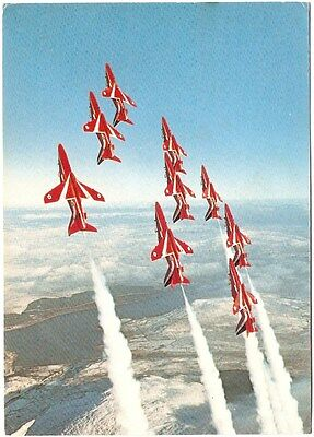 Red Arrows aerobatic team, Headquarters at RAF Leeming Yorkshire, dated 3.11.83