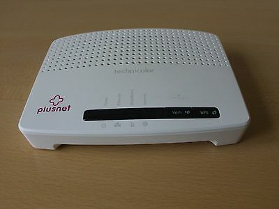 Technicolor TG582n Wi-Fi Protected  Wireless networking  Wireless router
