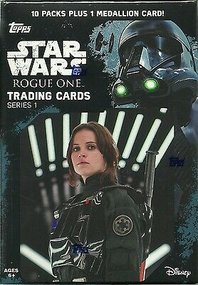 2016 Topps Star Wars ROGUE ONE New Trading Card Retail Value/Blaster Box SE