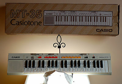 Vintage Casio MT-35 Casiotone 44-key Electronic Keyboard Synthesizer in Box